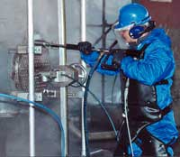 Heat-exchanger tube cleaning